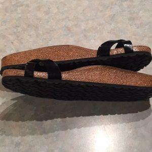 Birkenstock Shoes - Birkenstock black slides